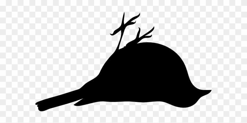 Dead Bird Clipart - Bird Silhouette Clip Art #11347
