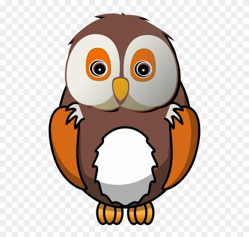 Owl Clip Art Border Free Clipart Images - Cartoon Owl #11359