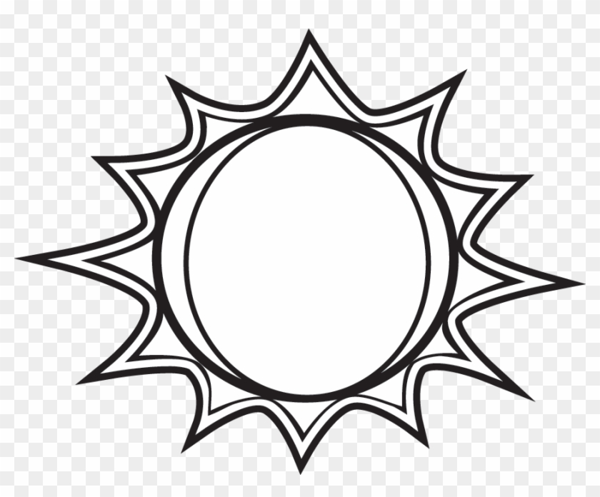 Sun Black And White Black And White Sun Clipart Free - Plants Need --- To Grow Worksheet #11367