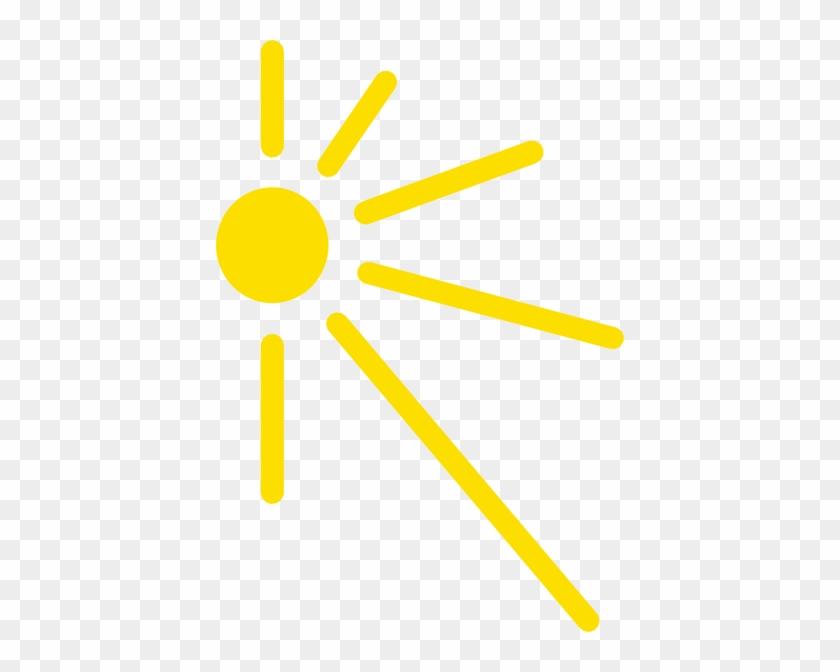 Sun Clipart Corner - Clip Art #11387