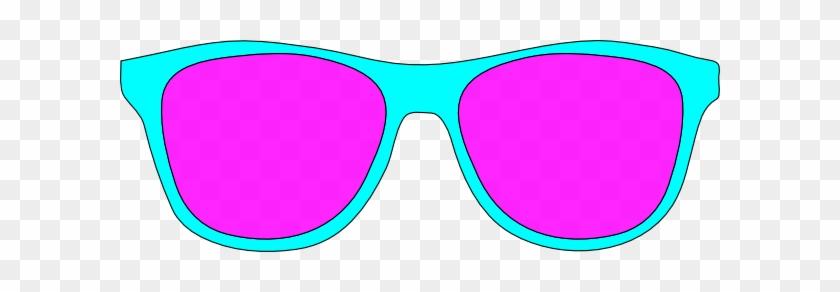 Clip Art Sunglasses Clipart Image - Clip Art Pink Sunglasses #11420