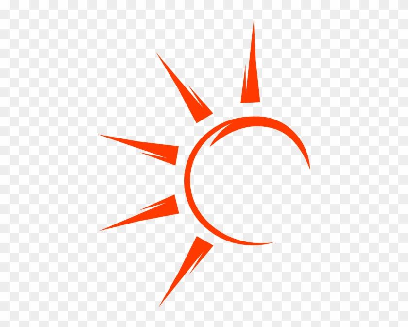 Half Sun Svg