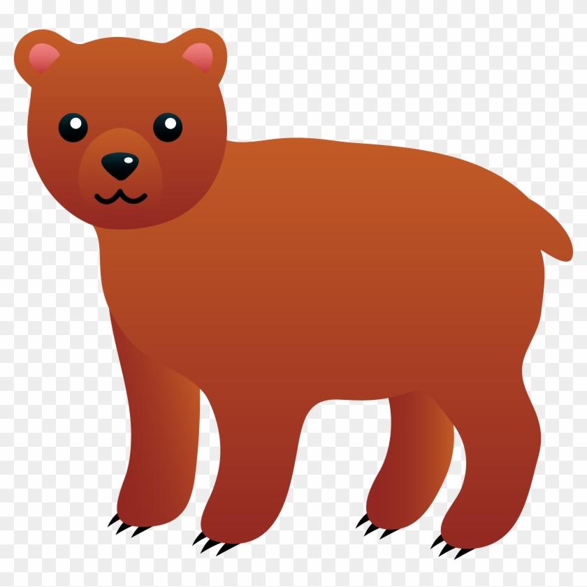 Bear Clipart - Brown Bear Clipart #11459