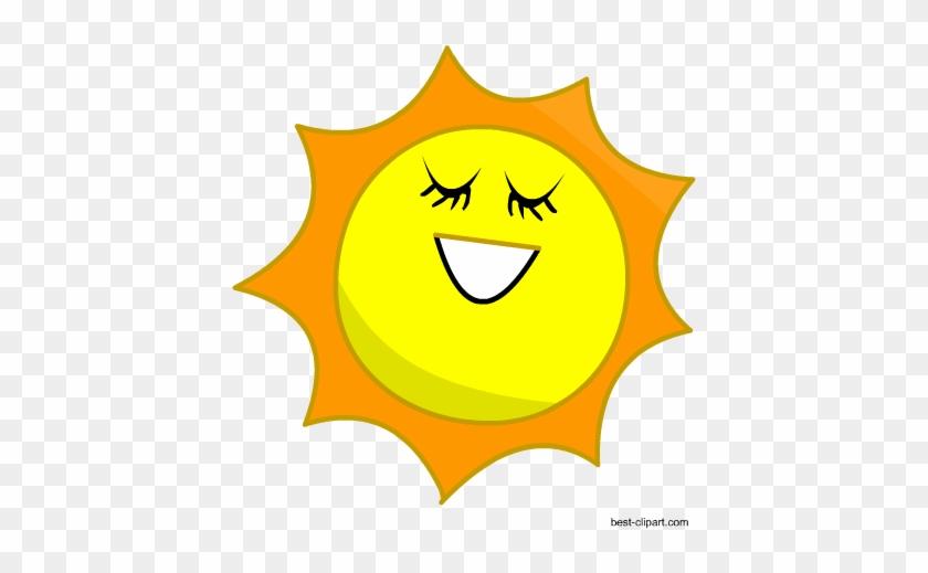 Free Sun Clip Art - Clip Art #11468