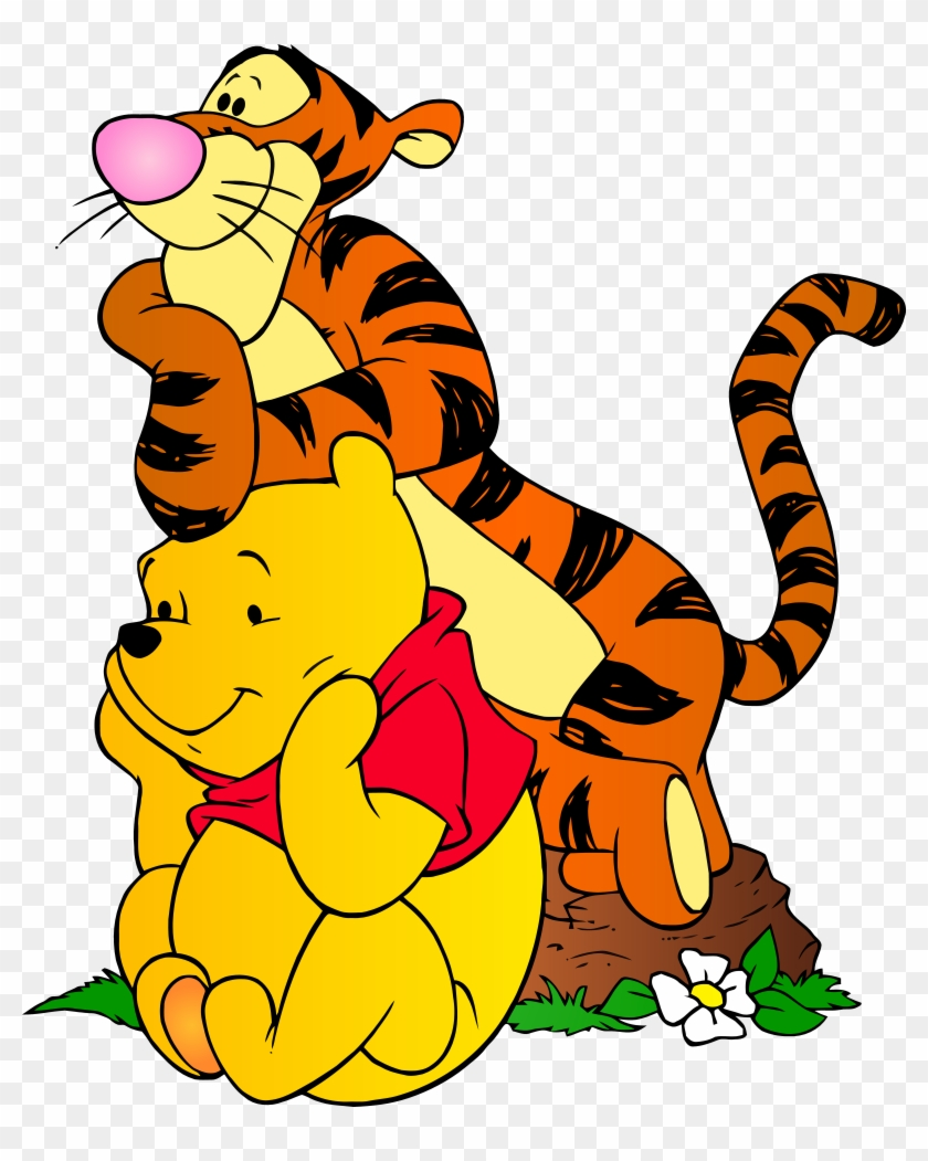 Trendy Winnie The Pooh Clipart And Tigger Png Clip - Winnie The Pooh And Tigger #11475