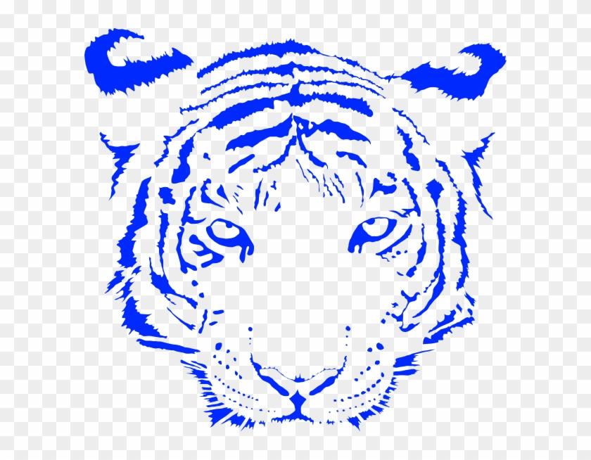 Transparent Tiger Face Png #11480