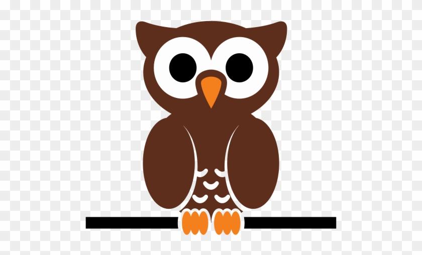 Free Cartoon Owl Perched On A Wire Clip Art - Cartoon Owl Shower Curtain #11492