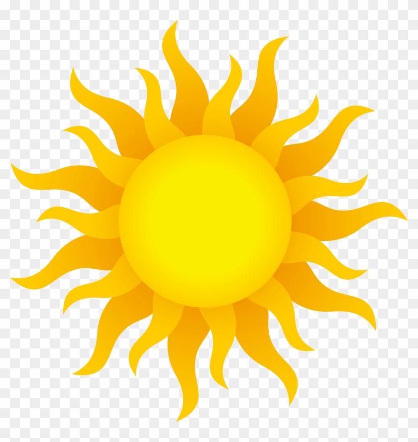 Sun Transparent Png Clip Art Image - Sun Images Hd Png #11525