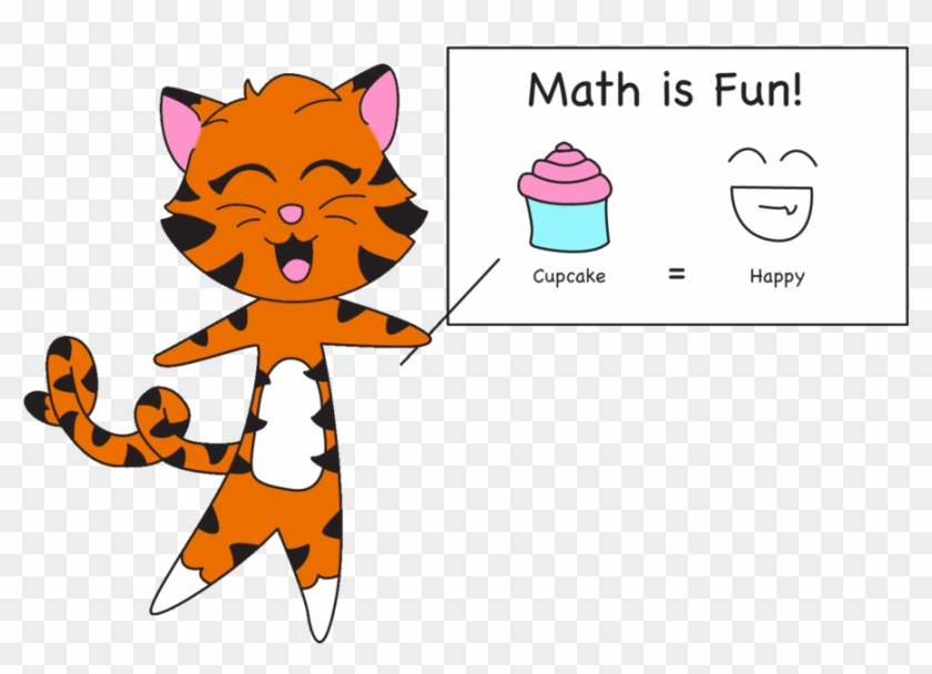 Tiger Clipart Math - Math Tiger #11524