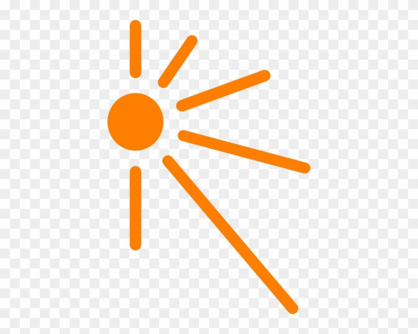 Clipart Info - Half Sun Rays Vector #11550
