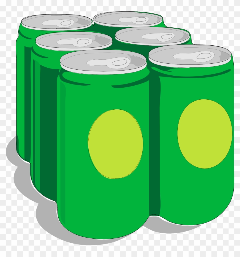 Free Vector Beer Cans Clip Art - Beer Cans Clip Art #11576