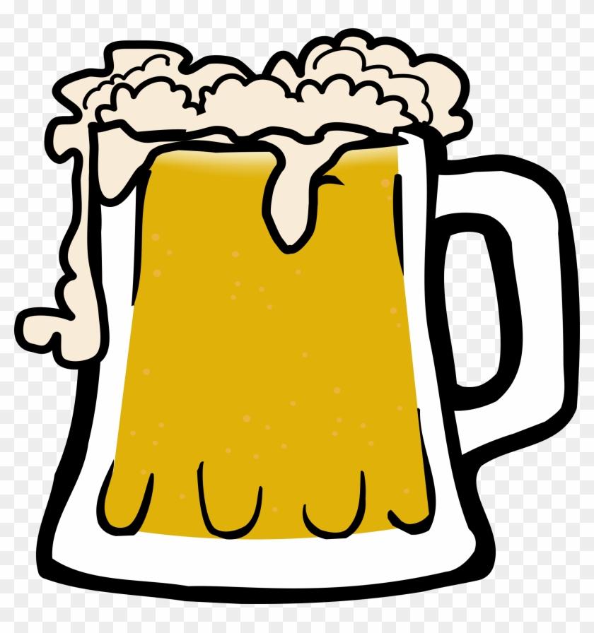 Big Image - Cartoon Beer Mug #11589