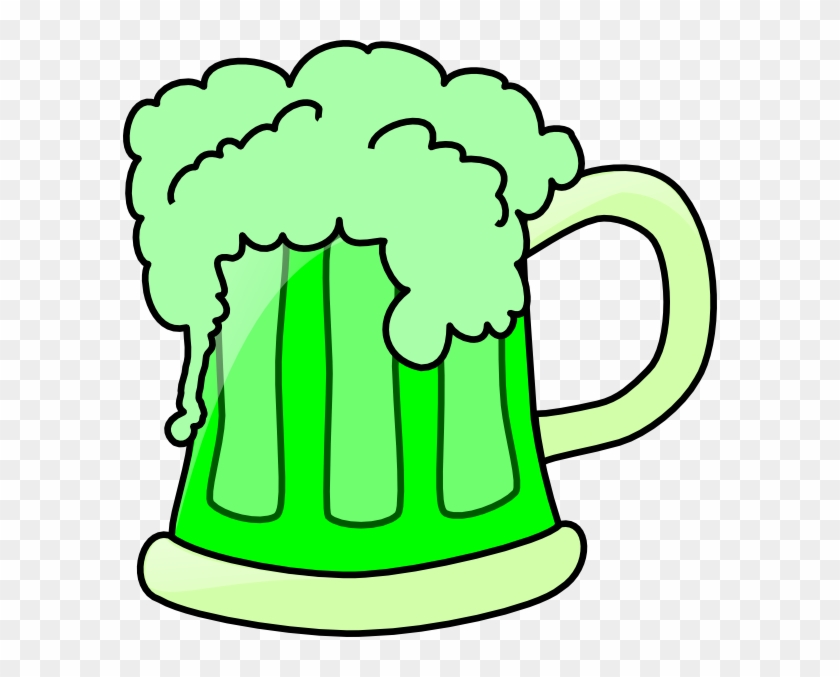 Green Beer Clip Art - Green Beer Clip Art #11602