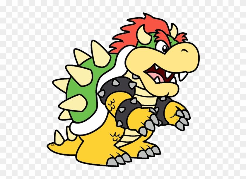 Piranha Plant Bowser Bowser - Mario And Bowser Cartoon #11603
