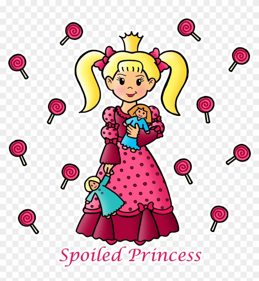 Hand-drawn Princess Art - Cartoon #11644