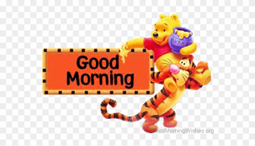 Good Morning Lovely Clipart - Winnie The Pooh Poster #11641