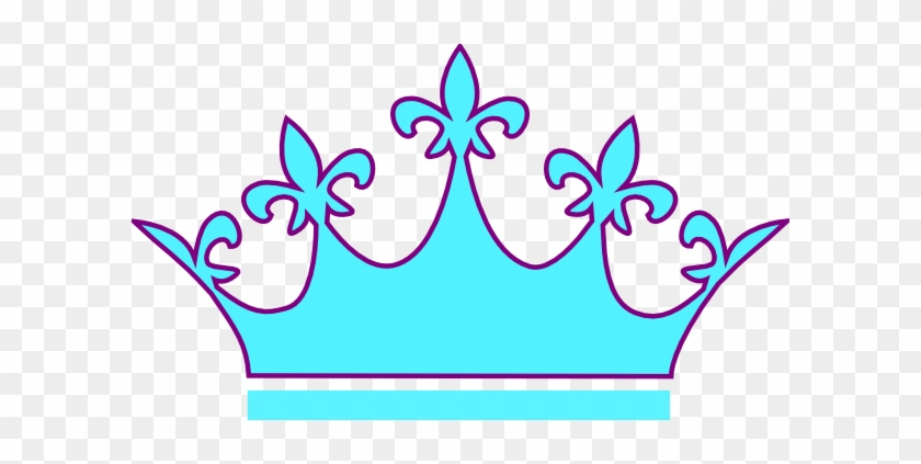 Teal Clipart Crown - Cartoon Crown For A Queen #11646