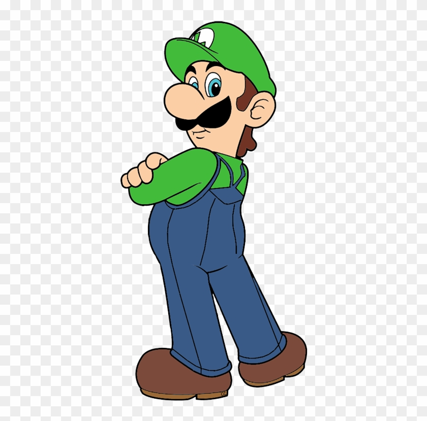Images Were Colored And Clipped By Cartoon Clipart - Super Mario Luigi Cartoon #11651