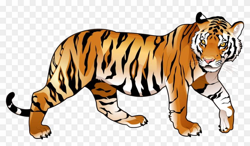 Tiger Clipart Png - National Animal Of India #11679