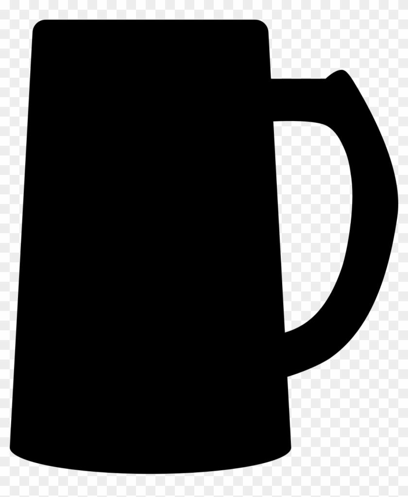 Big Image - Beer Mug Silhouette #11688