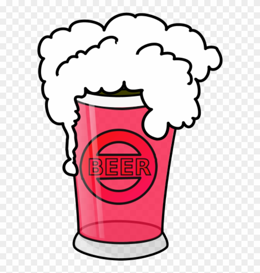 Vector Clip Art - Clip Art Glass Beer Mug #11694