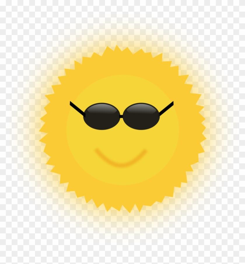 Sunshine Clip Art Free - Vector Graphics #11701