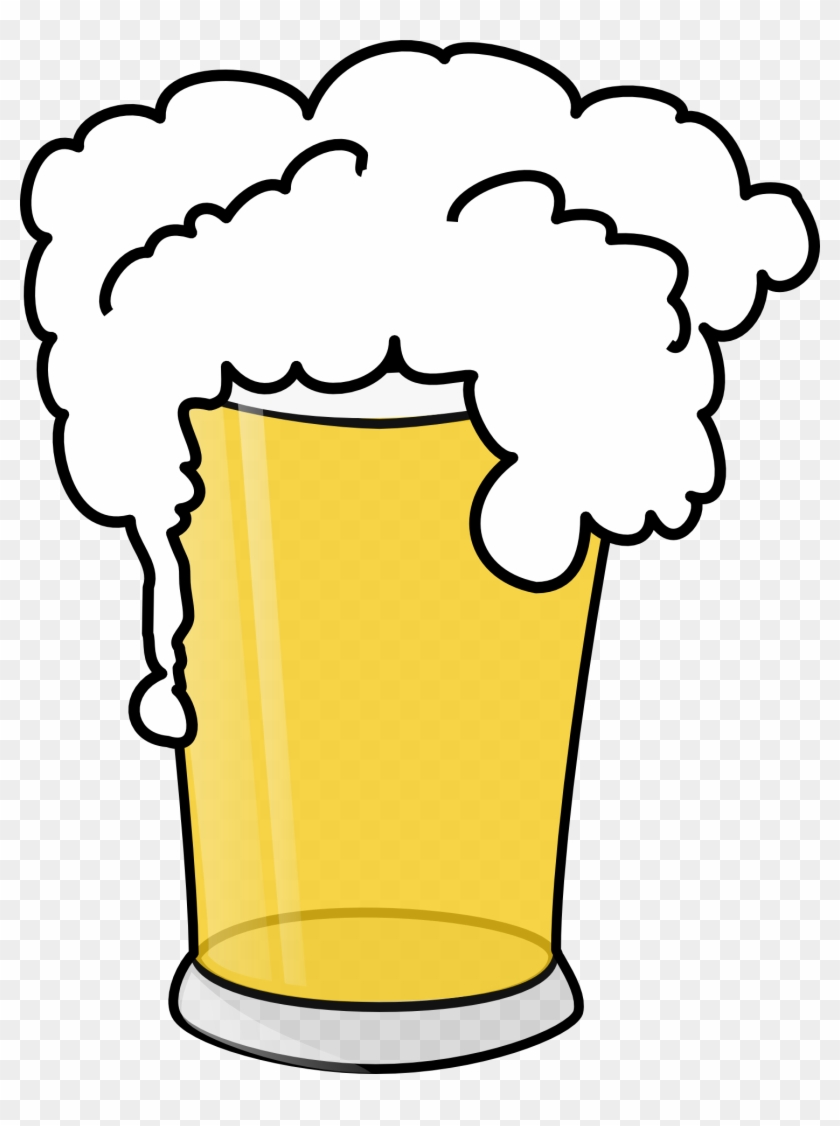 Alcohol Clipart Pint Beer - Beer Clip Art #11726