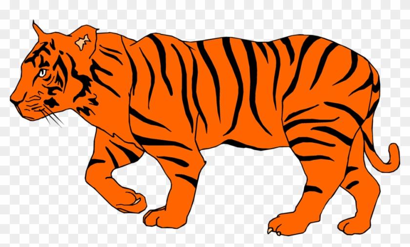 Tiger Cub Clipart Free Download Clip Art On - Illustration Of A Tiger #11786
