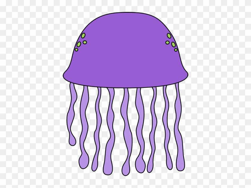 Purple Jellyfish - Jellyfish Free Clip Art #11804