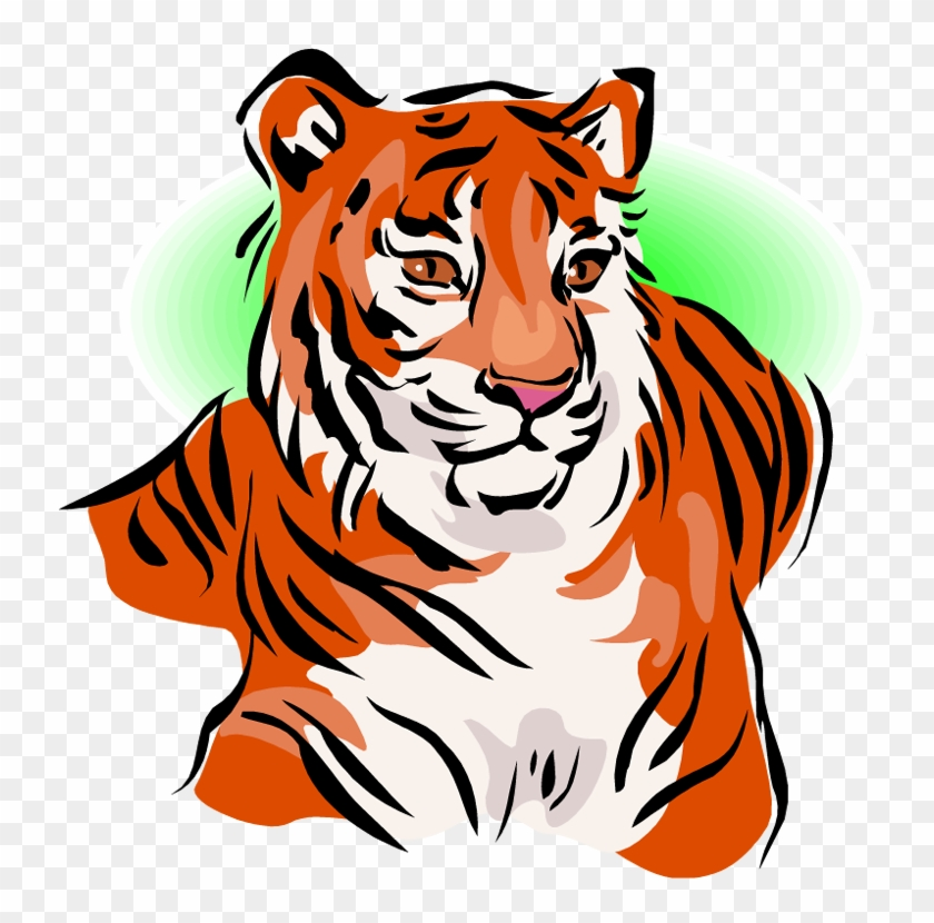 Free Tiger Clipart - Tiger Clipart #11810