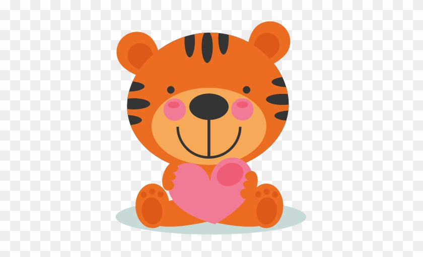 Teddy Clipart Tiger - Cat Card Svg Cutting File Free #11814
