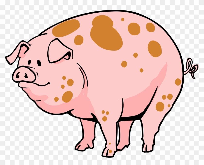 Pig Clip Art Pdf Free Clipart Images - Cartoon Pig Png #11866