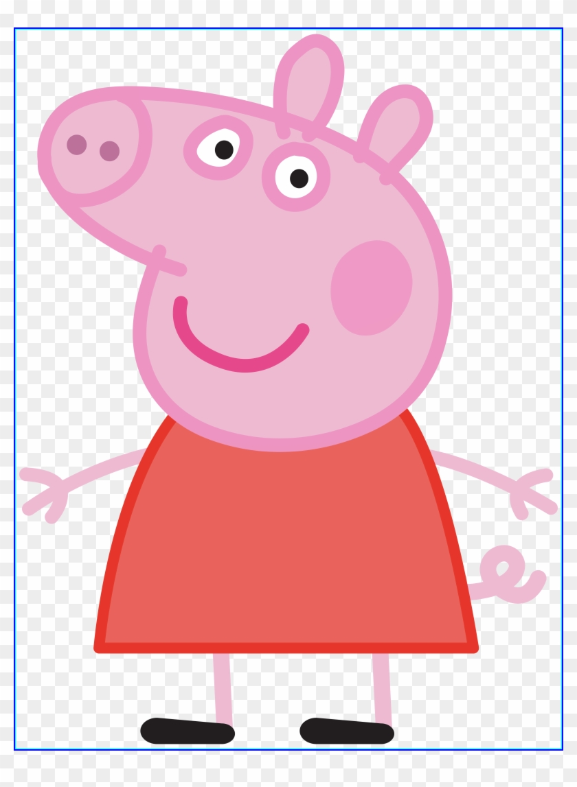 Peppa Pig Transparent Png Image - Peppa Pig Mini Figurine Set #11882