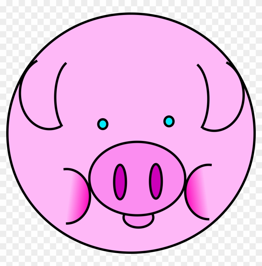 Pig Clipart - Pig Icon #11885