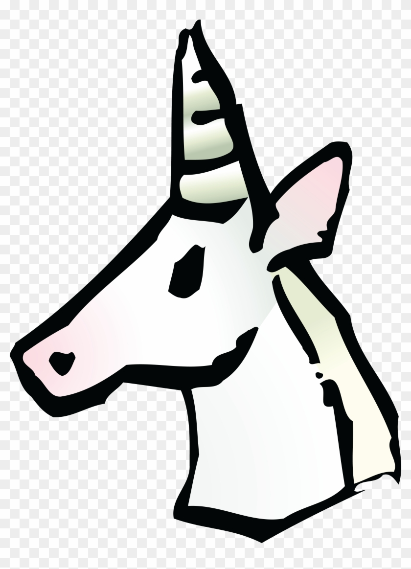 Free Clipart Of A Unicorn Avatar - Unicorn Icon Transparent #11909