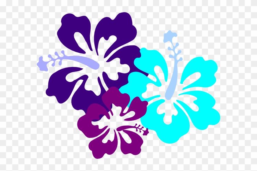 Hibiscus Clipart Teal - Hawaii Flower #11900