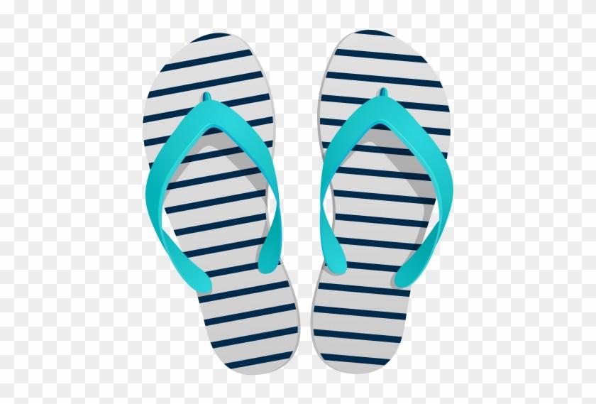 Flip Flops Png Clip Art In Category Summer Png / Clipart - Flip Flops Png #11902