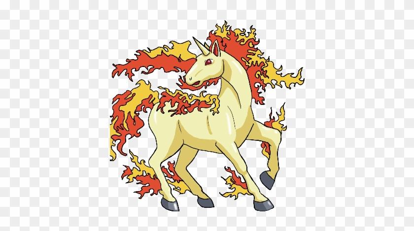 Unicorn Clip Art - Pokemon Rapidash #11913