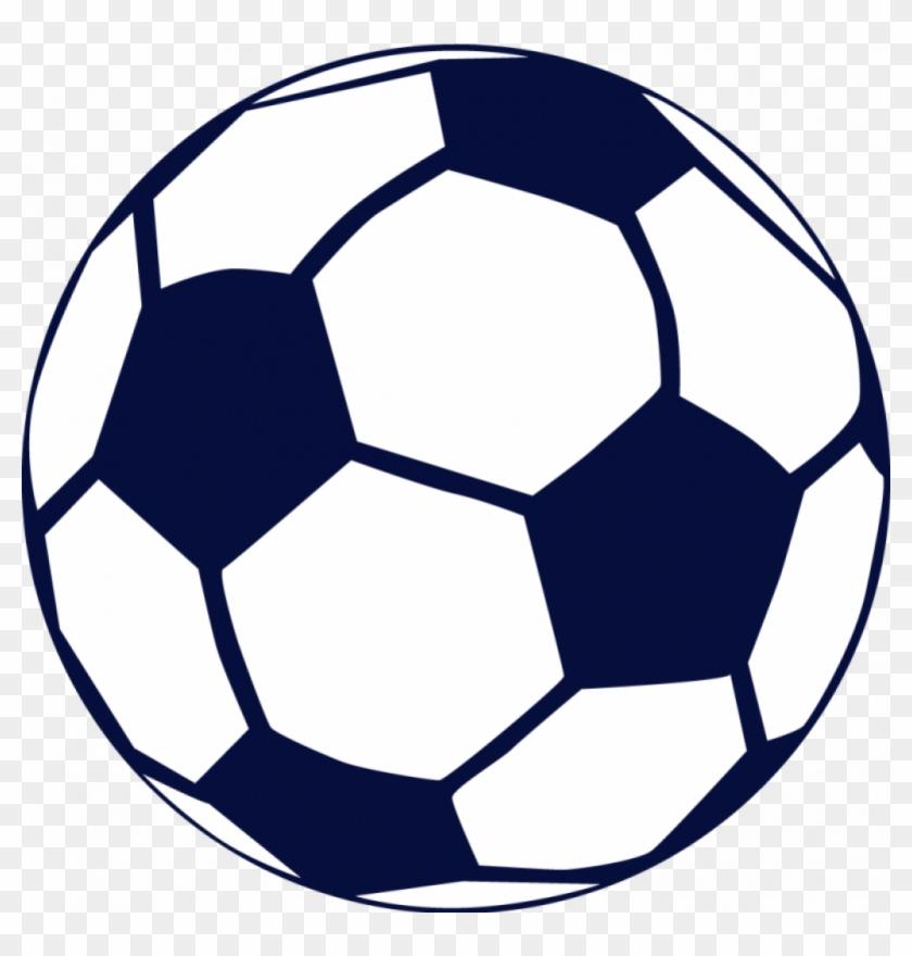 Soccer Ball Clip Art Free Soccer Ball Clip Art Sports - Navy Blue Soccer Ball #11929