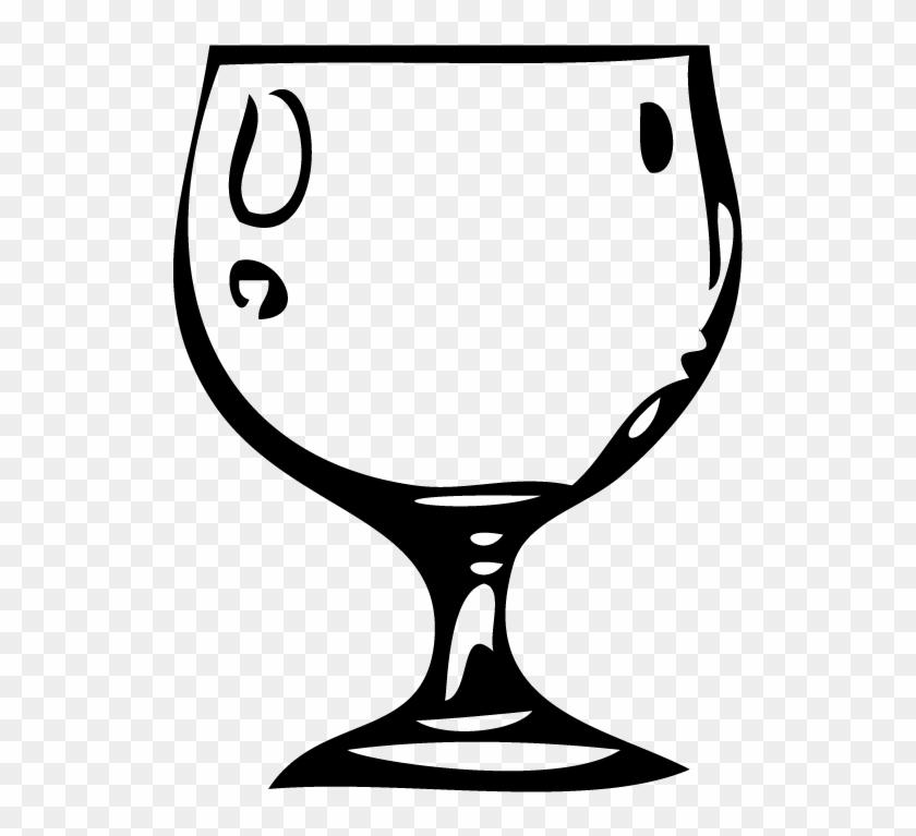 Goblet - Water Goblet Clipart #11960