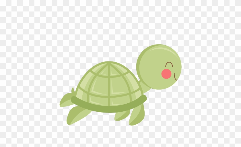 Baby - Cute Turtle Cupcake Toppers #11962