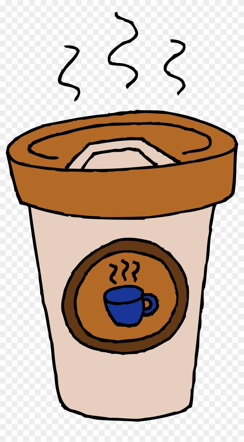 Clip Art Coffee - Paper Coffee Cups Clip Art #11972