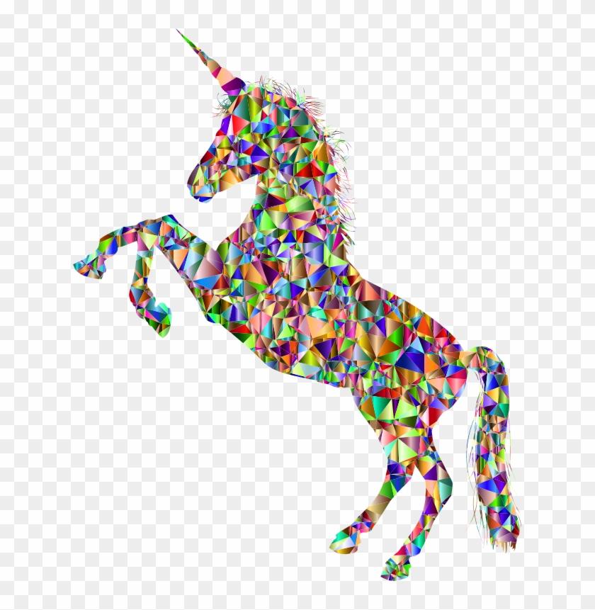 Medium Image - Rainbow Unicorn Silhouette #11977