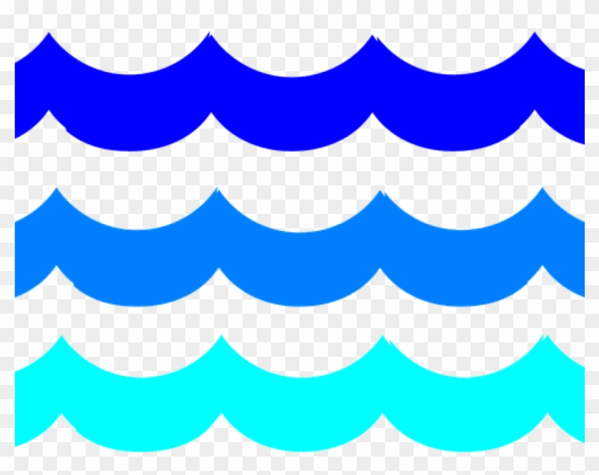 Ocean Waves Clipart Water Waves Swimming Pool Free - Mar Png #11995