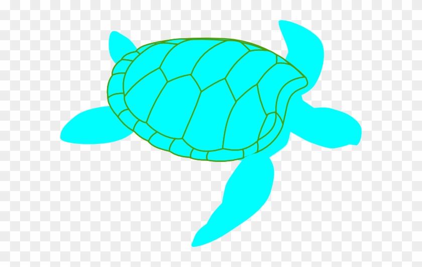 Turtle Clipart Blue And Green - Custom Green Sea Turtle Sticker #11999