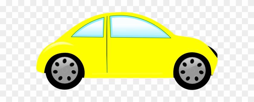 Cars Yellow Car Bug Car Clip Art At Clker Vector Clip - Yellow Car Clipart #11998
