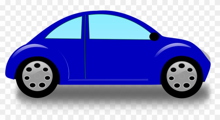 Beetle Car Clipart Blue Clip Art At Clker Com Vector - Toy Cars Clip Art #12038