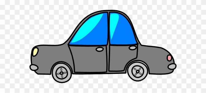 Car Grey Cartoon Transport Clip Art At Clker Com Vector - Gray Car Clipart #12040