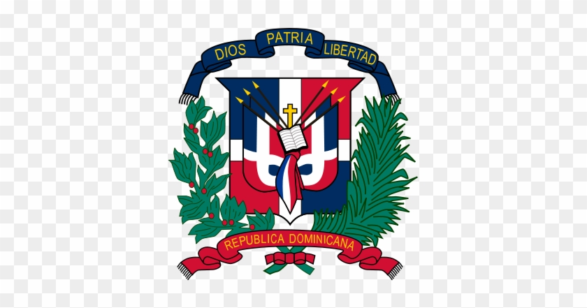 Clip Arts Related To - Dominican Republic Coat Of Arms #12044