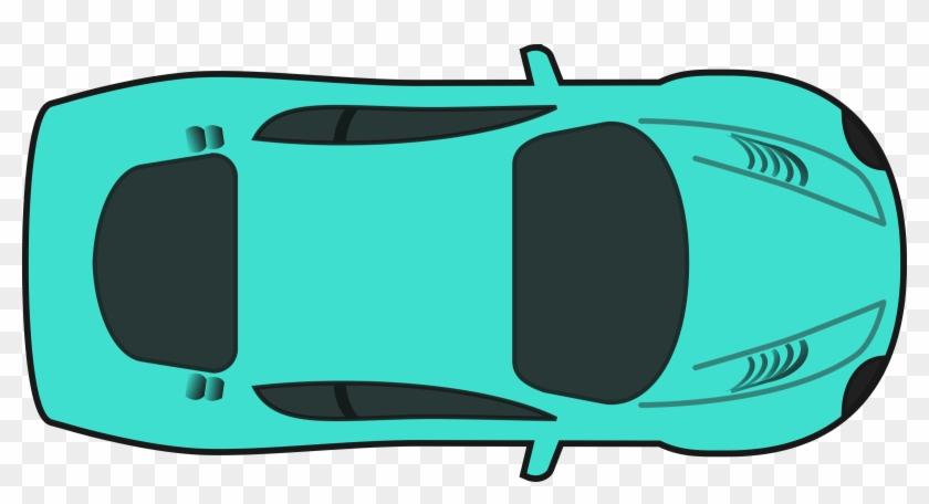 Big Image - Clipart Car Top View #12045